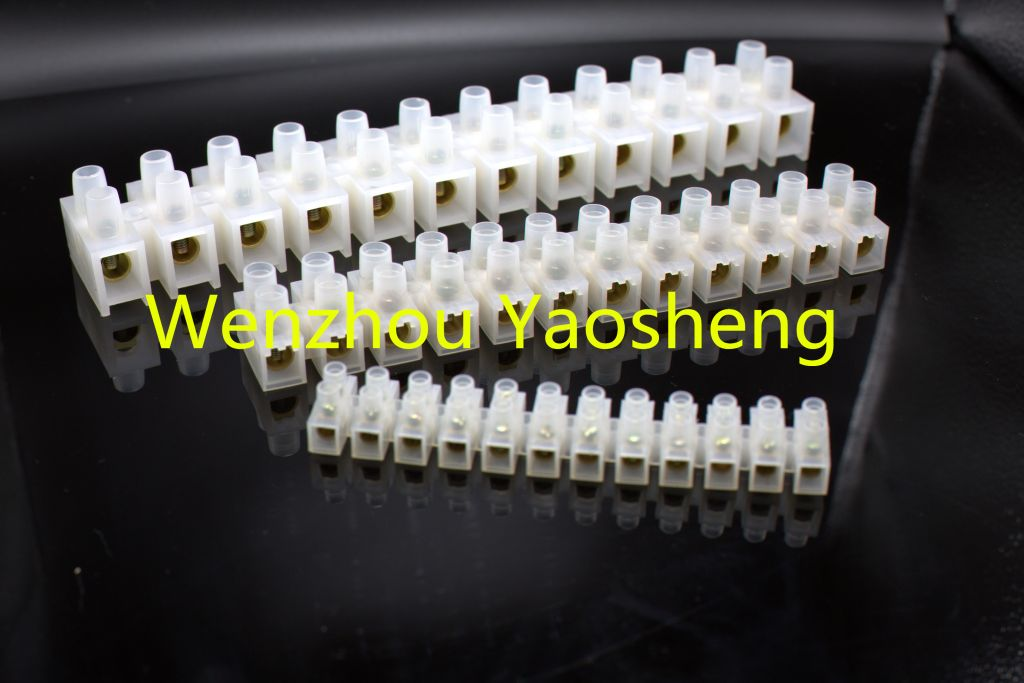 High quality PE H type terminal block terminal strips pvc connector