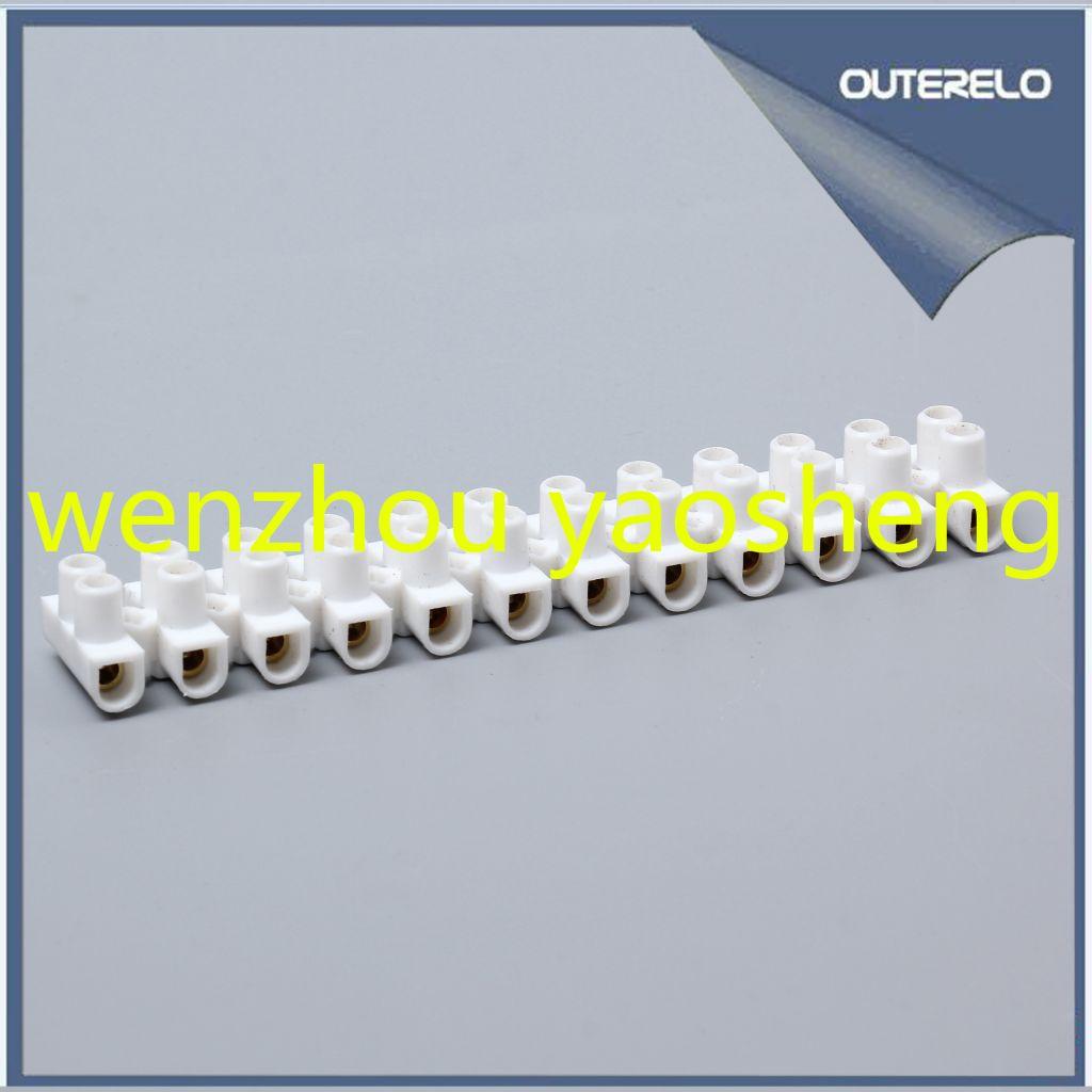 High quality PP U type terminal block terminal strips pvc connector