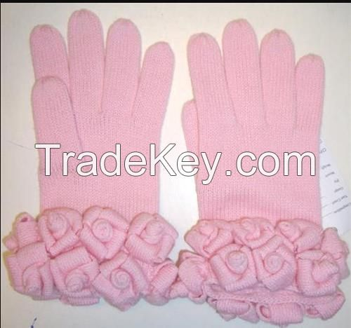 Ladies Knitted Gloves