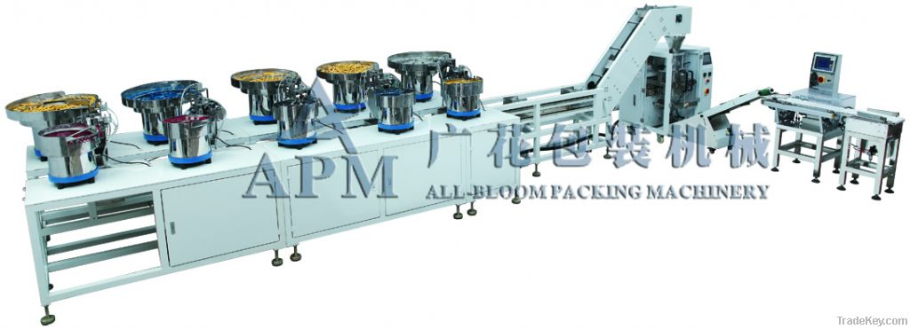 Automatic Counting Number Packing Machinie
