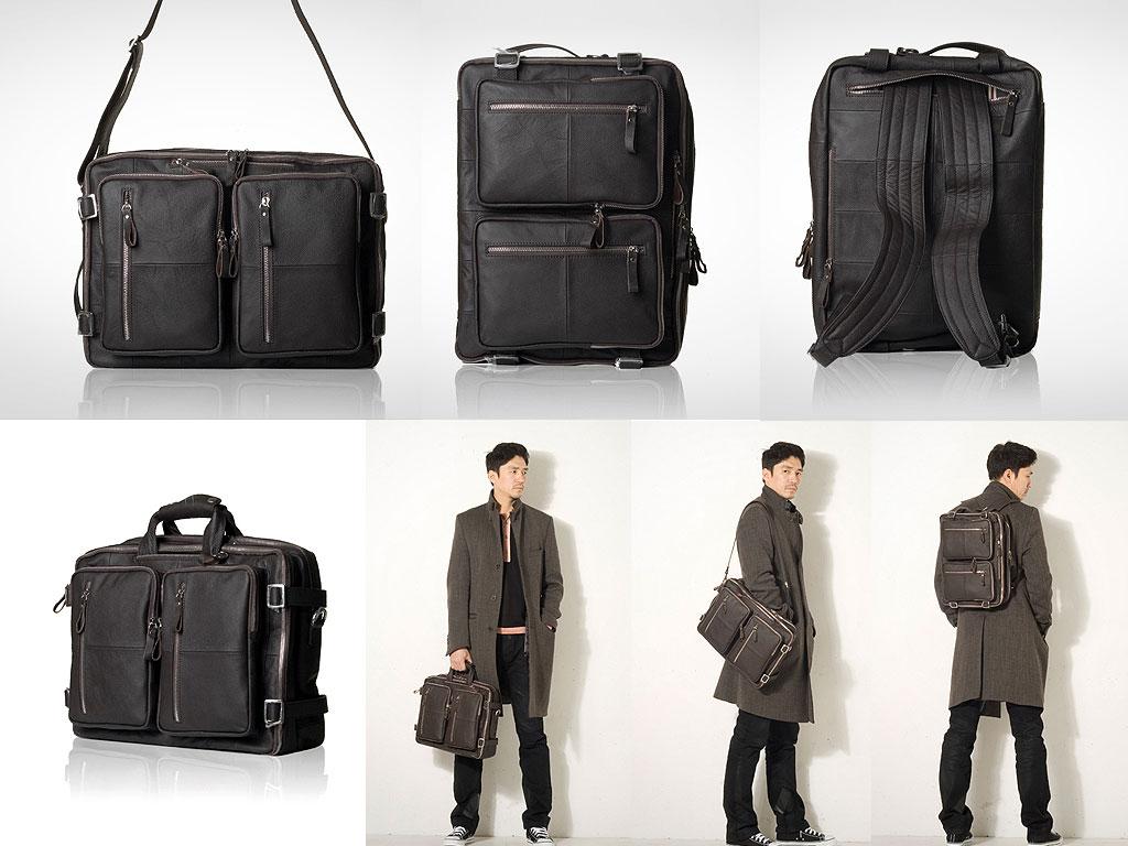 M139 Men's leather bag