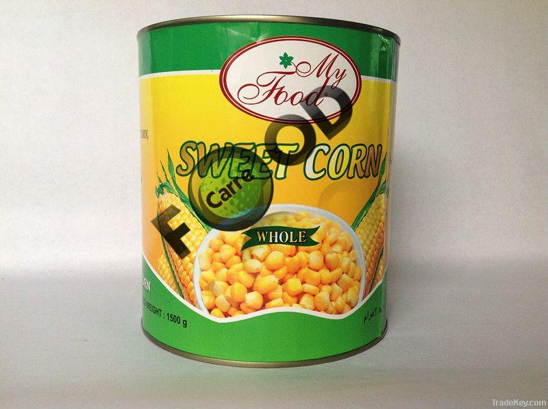 2.84L/6 canned sweet corn canned sweet corn canned corn