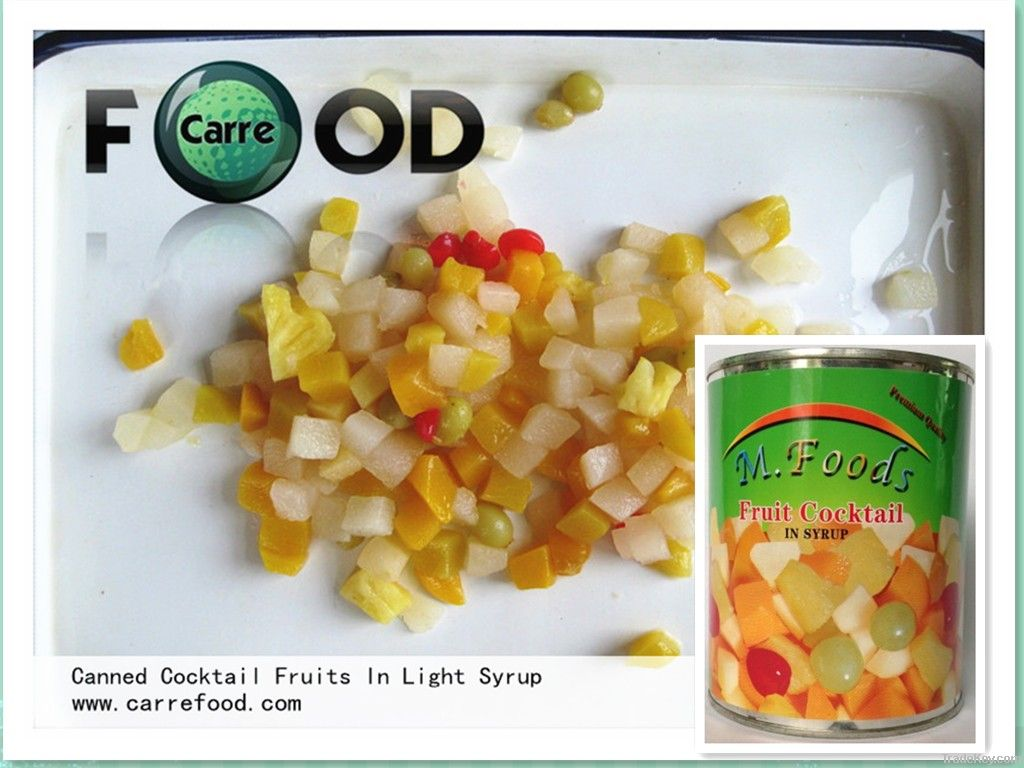 Canned Cocktail Fruits in Syrup canned fruits canned fruits cocktails