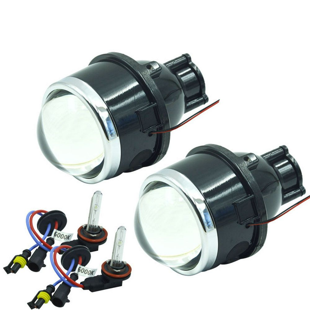 HID Bixenon H11 projector lens HID fog light high and low xenon light 2.5inch