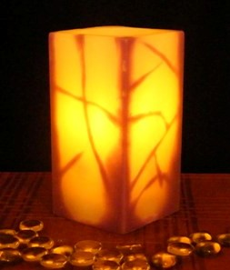 Real Wax Flameless Candles