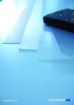 KITAPON re-usable adhesive rear projection film screen built-in cling