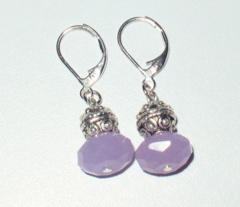 Semi-Precious Gemstone Earrings Sterling Silver