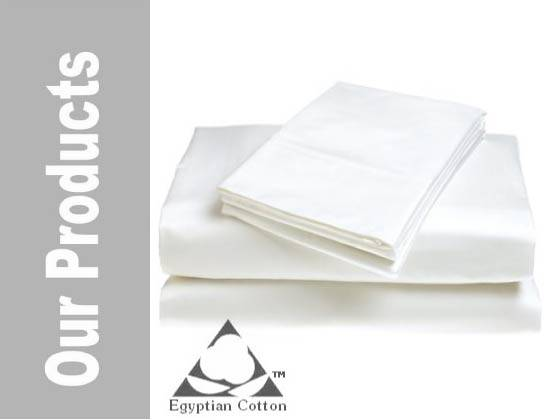 100% egyptian cotton bed sheets 300 TC
