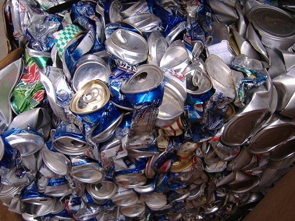 Aluminum ubc cans