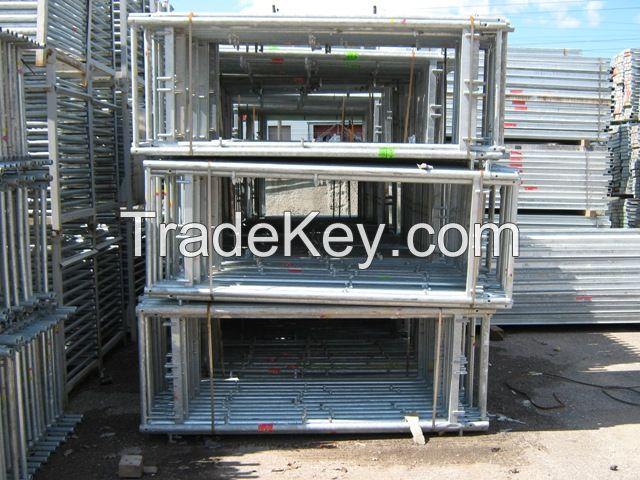 Plettac SL 70 Used Frame Scaffolding 500 square meter