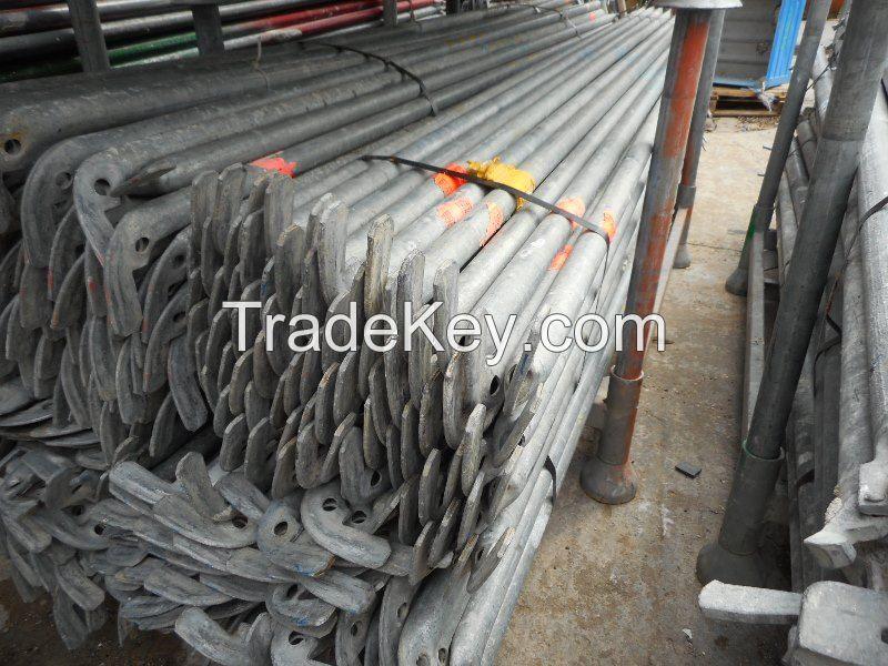 2500 sqm Layher Speedyscaf scaffolding Used