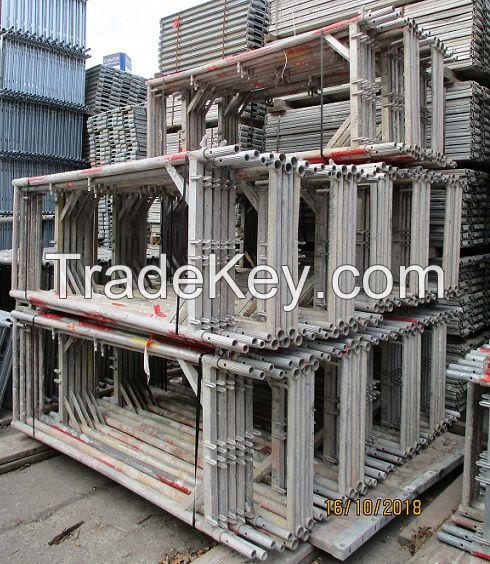 Plettac SL 70 Used Frame Scaffolding 760 square meter