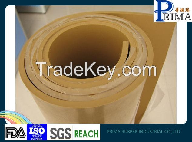Natural rubber rubber sheet