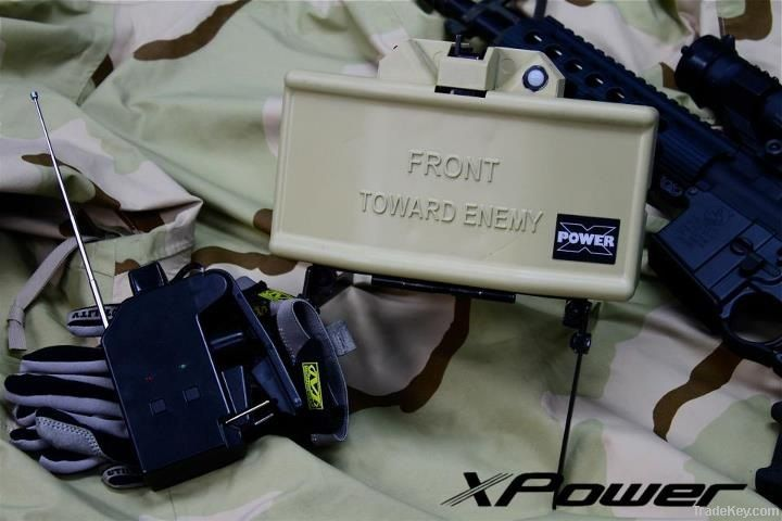 XPower CO2 Toy Claymore Landmine