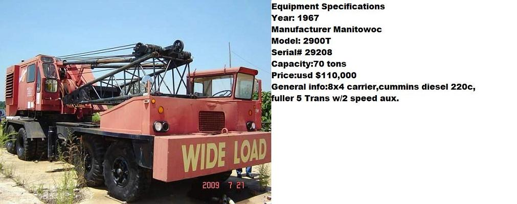 Manitowoc Mobile Crane