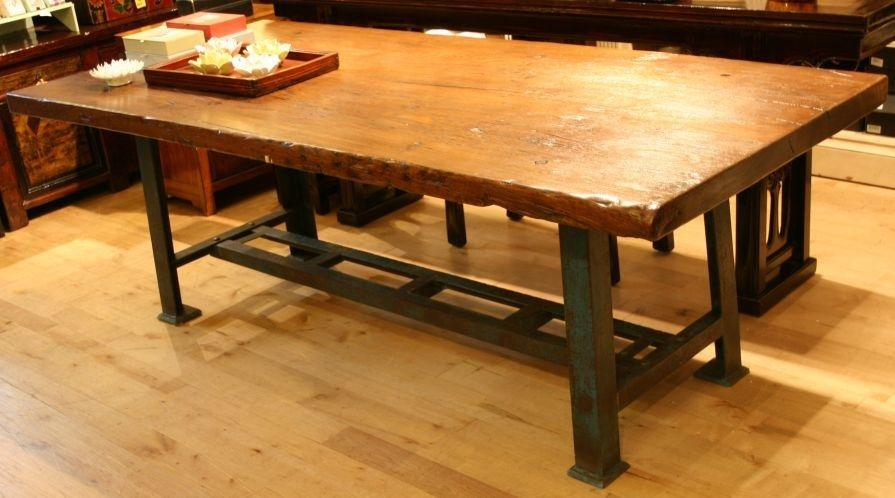 Custom made French Industrial Style Working/Dining Table
