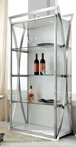 Stainless Steel Bookcase