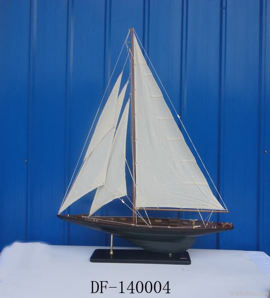 wooden ship modelAntique wooden ship model, wooden sail boat model, me