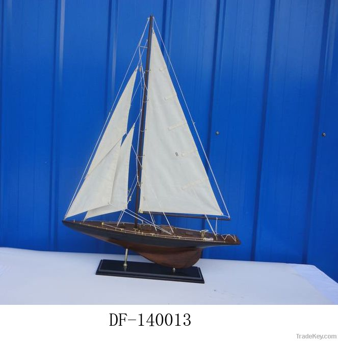 High Quality wooden sail boat model, merchant ship, Antique wooden ship