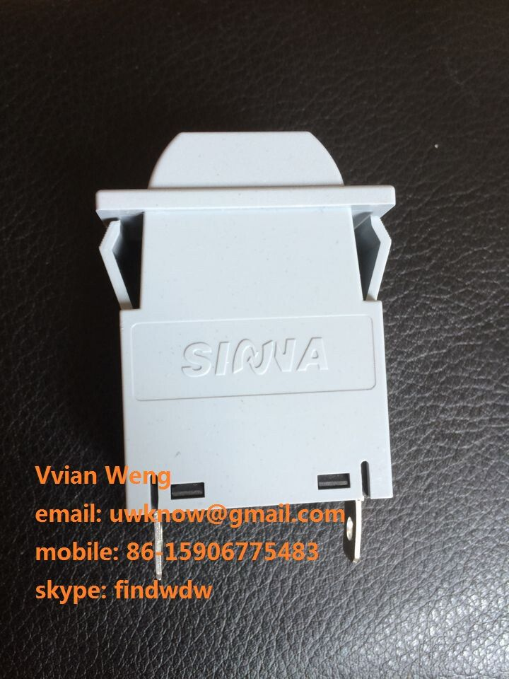 Hydraulic Magnetic Circuit Breaker Rocker Switch Protector Interrupter AC DC 1A-30A 1P for car, 5G Network Base Station