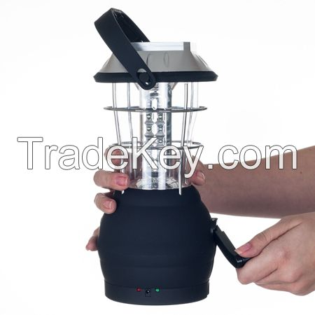 36 LED Solar Dynamo Camping Lantern