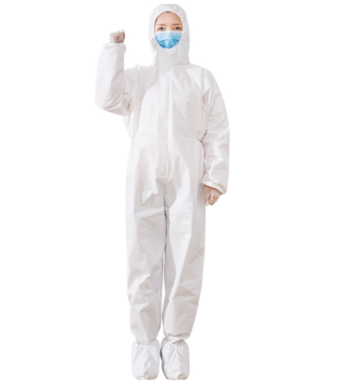 High Quality Disposable Safety Clothing Coverall Gown Protective Non-Woven
