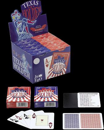 Juego Texas Hold'em Playing cards