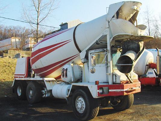 Advance Front Disharge Concrete Mixer Truck