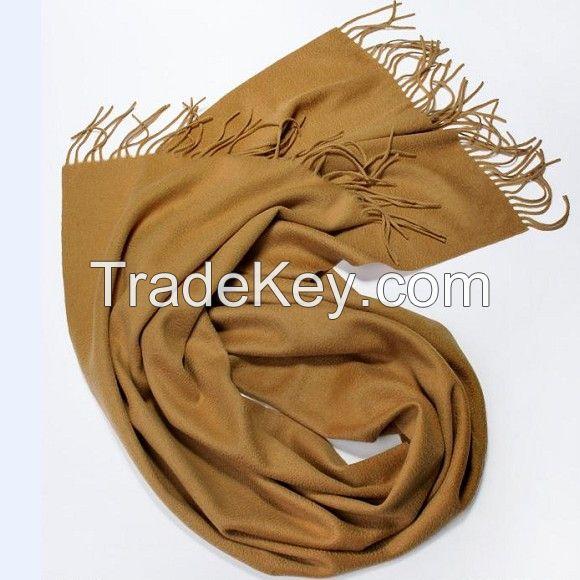 Cashmere Woven Winter Scarf  Merino Wool