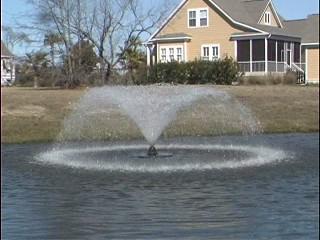 Aquatic Aeration Systems Lake Fountain / Pond Aerator