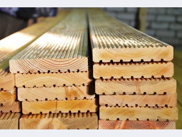 Planken, decking