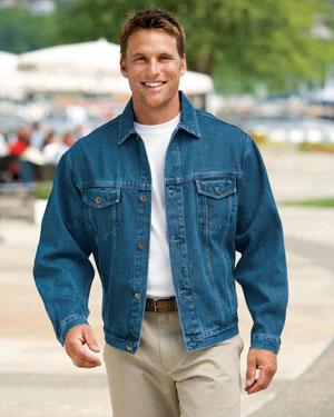 Port Authority Mens Authentic Denim Jacket