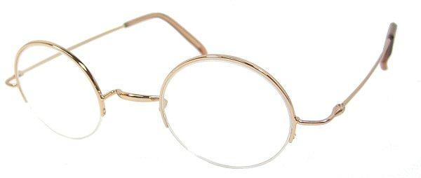 Harry Potter Semi Rimless Eyeglasses Frame