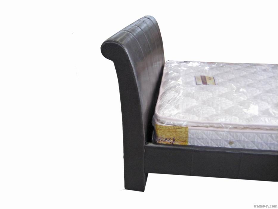Synthetic Leather Furniture Bed