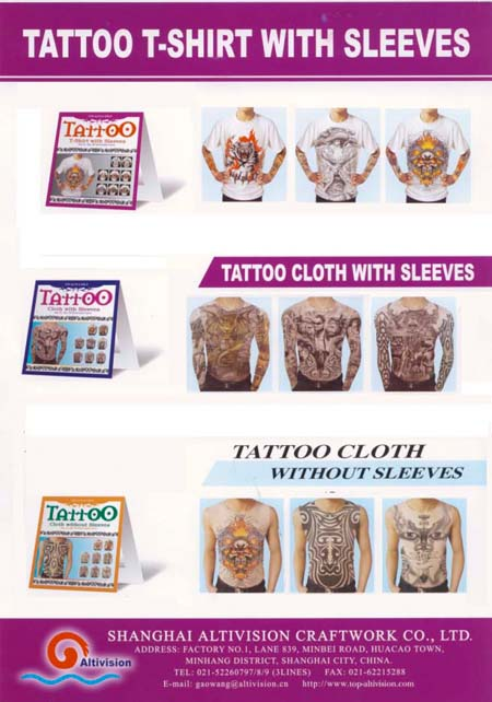 tattoo cloth