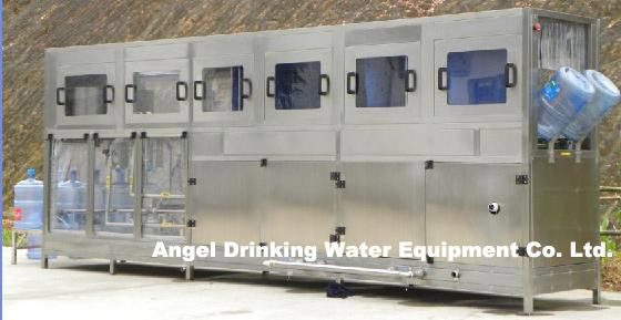 3 / 5 gallon automatic barrel/bottle/ jar drinking water  filling capping machine