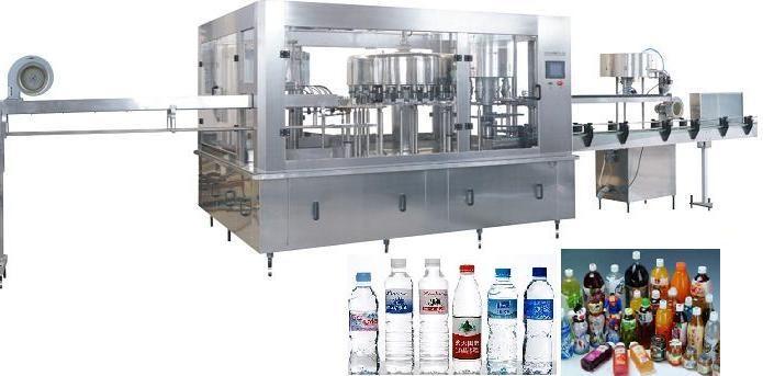 Bottle water/beverage/juice/tea washing filling capping machine