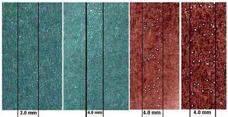 micro laser perforation, scribing, marking, piracy design