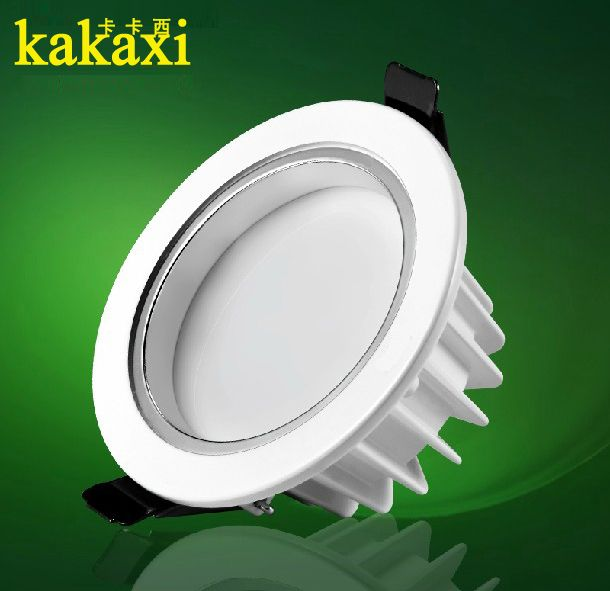 high quality 3w 5w 7W 12w 15w 18w led downlight Import chip lamp led spotlight LED Ceiling light