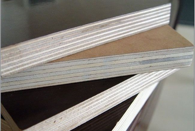 Brown Film Faced Plywood Construction Plywood