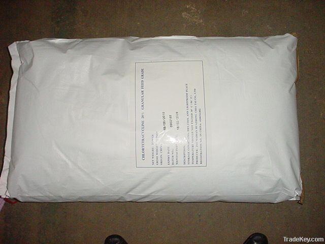 CHLORTETRACYCLINE FEED GRADE 15% POWDER/GRANULAR