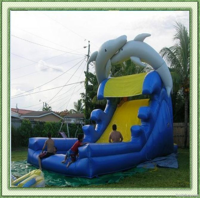 the cheapest water park inflatable water slide