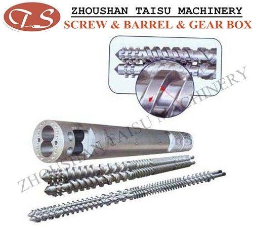 Bimetallic extruder twin parallel screw barrel with high quality