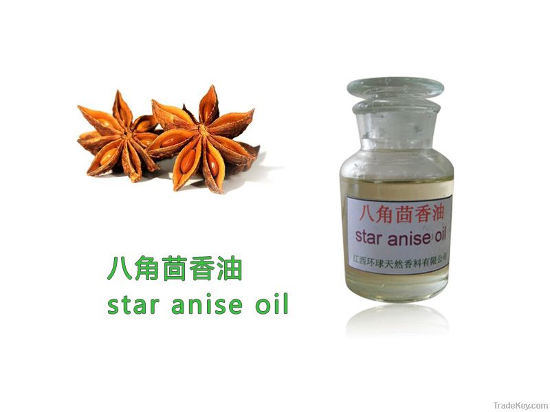 Star Aniseed Oil, Star Anise oil, Food additive oil, Spices, 8007-70-3