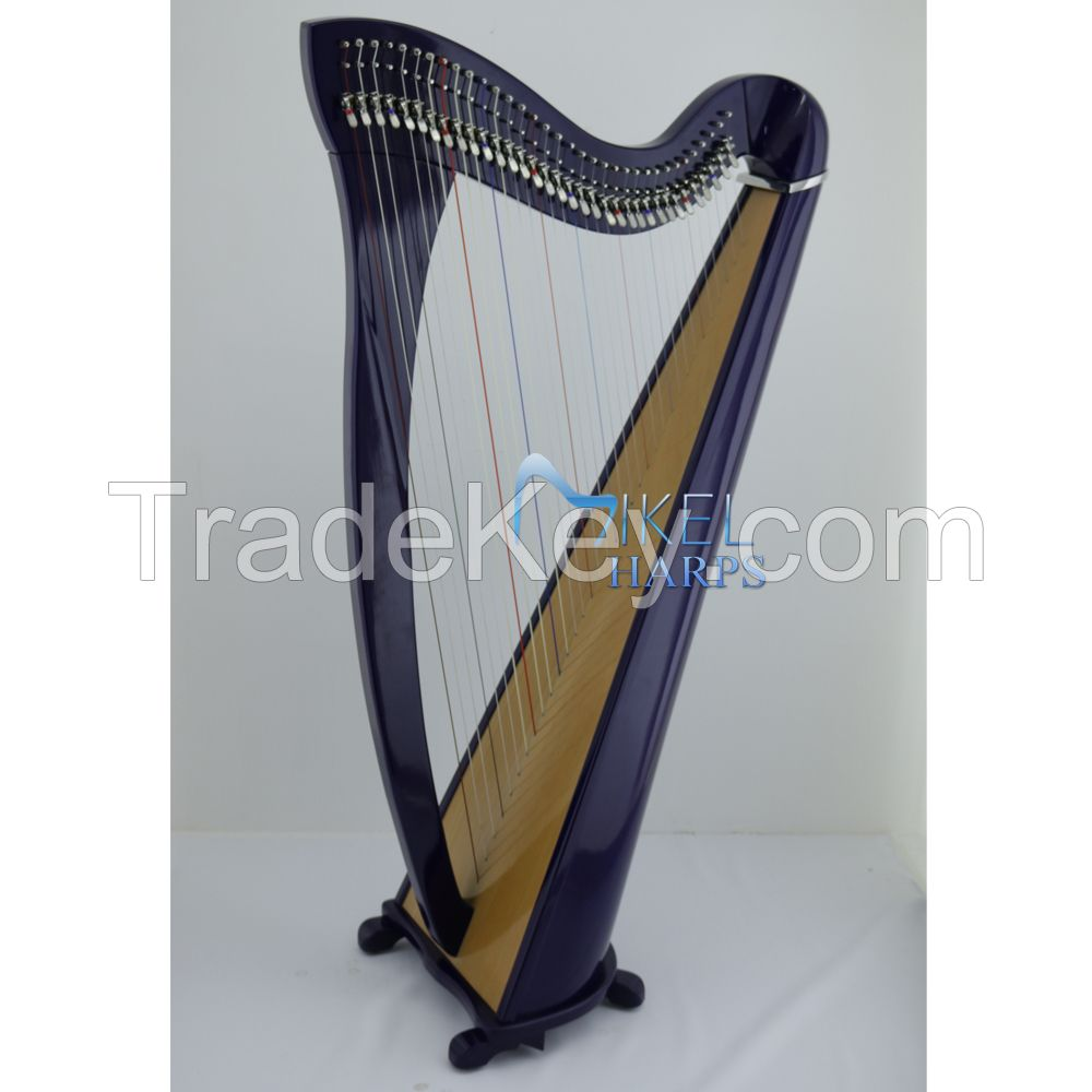 Daisy 34 Strings Lever Harps