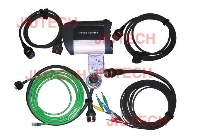Diagnostic scanner sd c4, star c4 with laptop diagnostic scanner used for mercedes Benz diagnosis with DAS Xentry WIS EPC software