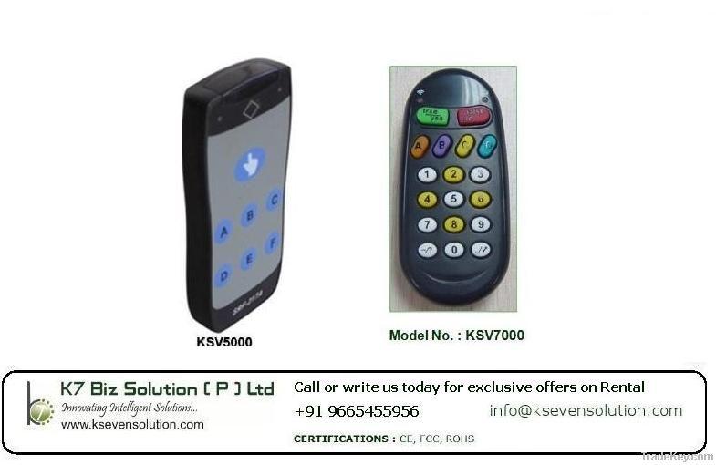 K7 Voting Pads
