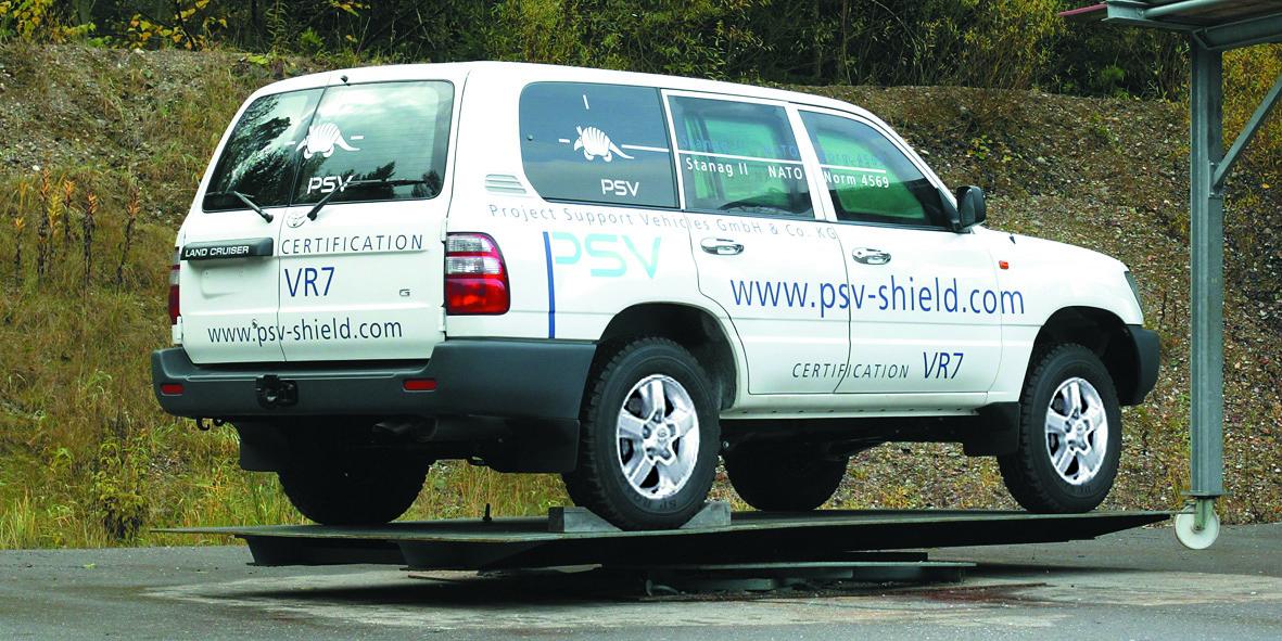 PSV Landcruiser Shield VR7