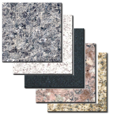 Granite marble tiles