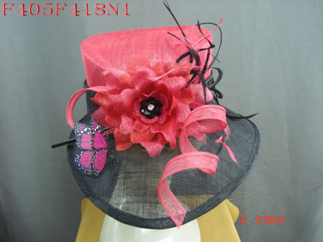 Chinahatter supply felt hat,orgenza hat,sinamay hat,millinery